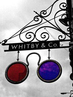 Spectacles Shop sign in Fleet Street, London.