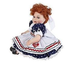 I Love Lucy Lucille Ball Marie Osmond Brand Baby Lucy Porcelain Doll w COA Box   eBay