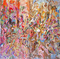 Abstract Expressionism - 2nd Generation: Larry Poons