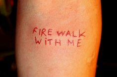 Twin peaks tattoo I love the idea