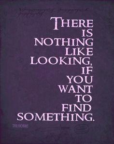 the hobbit typography quote poster 12x18 by studiomarshallarts, $15.00