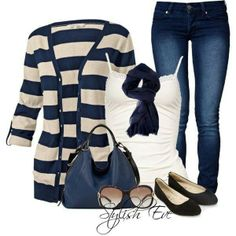 Navy blue fall outfits
