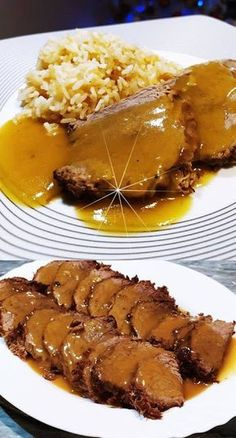 Greek Recipes, Meat Recipes, Cooking Recipes, Meat Cooking Times, Pork Tenderloin Recipes, Special Recipes, Kitchen Recipes, No Cook Meals, Food Dishes