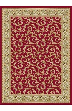 Infinity Home Source Dulcet Scrolls Ivory Rug