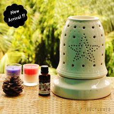 Electric White Bell Diffuser