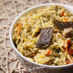 Co jeść na kolację czyli 10 pomysłów na proste i zdrowe kolacje ⋆ AgaMaSmaka - żyj i jedz zdrowo! Risotto, Lunch Box, Food And Drink, Rice, Gluten Free, Vegan, Party Time, Diet, Sin Gluten