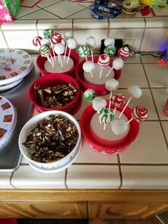 Christmas 2016, cake pops and chocolate toffee