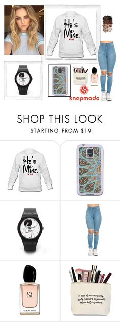"""""""#3/2 Snapmade"""" by almira-mustafic ❤ liked on Polyvore featuring Polaroid, Samsung, Armani Beauty and LORAC"""