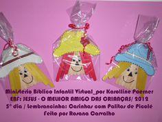 MINISTÉRIO BÍBLICO INFANTIL VIRTUAL_por KAROLLINE POERNER: EBF - Jesus: O Melhor Amigo das Crianças/2012_4° dia e 5° dias