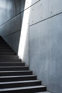 ::  STAIRS :: Lovely concrete detailing. Photo Credit: Collezione by Tadao Ando, Omotosando, Tokyo © Tim Pike #stairs