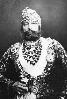 Maharaja of Jodhpur 1880's India