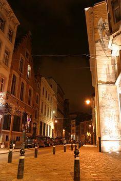 Rue des Chartreux, Brussels, Belgium