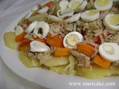 Ensalada de Bacalao - Cod Fish Salad