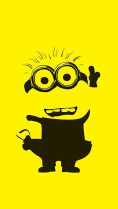 53 Ideas For Yellow Wallpaper Iphone Quotes Despicable Me Amor Minions, Cute Minions, Minions Despicable Me, My Minion, Funny Minion, Minions Quotes, Girl Minion, Minion Wallpaper Iphone, Wallpaper Iphone Disney