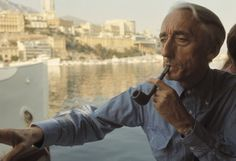Jacques Yves Costeau, Monaco, photo by Bruno Barbey Eugene Richards, Nautical Outfits, Nautical Clothing, World Best Photographer, Jacques Yves Cousteau, Undersea World, Robert Frank, Gents Fashion, Blue Curacao