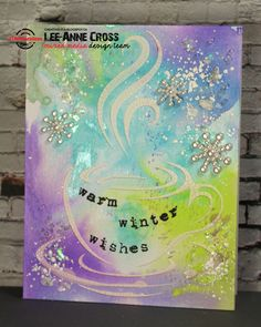 ARTplorations Stencil Blog Hop Day 4 and Coffee Lovers Blog Hop | Creatively LA