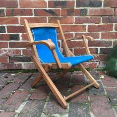 Orangevertevintage — Chaise Transat Enfant Vintage