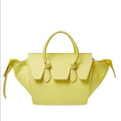 6acac4bdf0 Nwt Celine tie bag New with tags selling for a store so have multiples  authentic yellow grained Celine tie knot bag retails over  3900 no trades  Celine Bags ...