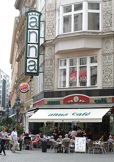Anna Cafe, Váci Street, Budapest hey remember that amazing drink you got there……. Budapest Restaurant, Great Places, Places To Go, Travel Around The World, Around The Worlds, Capital Of Hungary, European River Cruises, Travel Log, Most Beautiful Cities