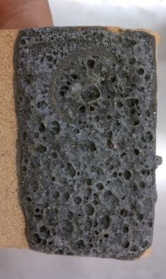 Faux Lava Rock: cone 10 80% Kona feldspar, 20% kingsley kaolin, 15% silicone carbonate, 5% nickel carbonate. Apply with a good three coats.