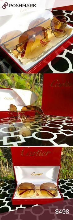 4fa8ddad7f09 CARTIER C-DECOR RIMLESS GLASSES!!! CARTIER C-DECOR RIMLESS GLASSES!