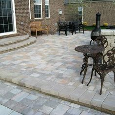 Traditional Patio Pavers Design and head down to Mobicast ( Bricks, Blocks, Pavers and Kerbs ) has the largest range of bricks, paving and retaining blocks in the Southern Cape. We have branches in George, Mossel Bay and Harkerville. #paver #ideas #landscaping