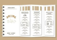 Créer sa carte du restaurant : un exercice pas si simple | ATABULA