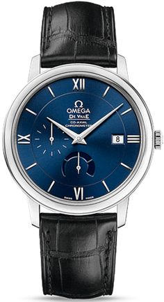 424.13.40.21.03.001  NEW OMEGA DEVILLE PRESTIGE POWER RESERVE CO-AXIAL MENS WATCH  Usually ships within 8 weeks   - FREE Overnight Shipping | Lowest Price Guaranteed    - NO SALES TAX (Outside California)- WITH MANUFACTURER SERIAL NUMBERS- Blue Dial - Date Feature - Power Reserve Indicator - Self Winding Automatic Co-Axial Escapement Movement - Caliber 2627 Chronometer Movement - 48 Hour Power Reserve - 4 Year Warranty - Guaranteed Authentic - Certificate of Authenticity- Manufacturer Box