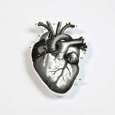 Parliament of Two Heart Brooch