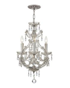 !!!! The perfect mini chandelier for the kitchen nook! !   HCS16_H85XG