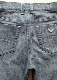 Kup mój przedmiot na #vintedpl http://www.vinted.pl/damska-odziez/dzinsy/17102051-spodnie-armani-jeans-28-rozmiar-ciemno-szare