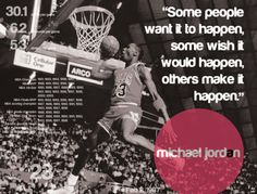 Michael Jordan Inspirational Quote - #ChicagoBulls #NBA #Basketball - Motivational Quote
