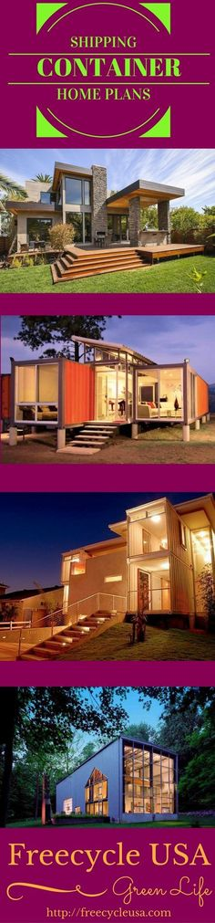 Beautiful Container Homes that can be built for pennies on the dollar. Find out more on how you can build your own Shipping Container Home. #FavoriteContainerHomes