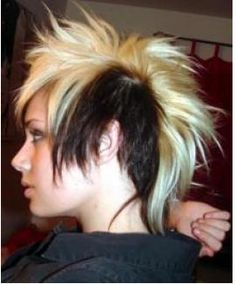 Teen Mohawk Picture With Highlight