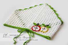 kerchief (crochet pattern) ༺✿ƬⱤღ  https://www.pinterest.com/teretegui/✿༻