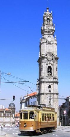 Torre dos Clérigos, Porto , Portugal I've climbed all the way to the top. Portugal Vacation, Hotels Portugal, Visit Portugal, Portugal Travel, Porto City, Tramway, Portuguese Culture, Douro, The Beautiful Country