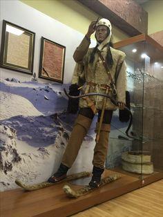 Точное воссоздание одеяния древнего человека. Хакасия.