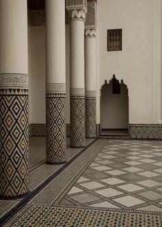 morocco Islamic Architecture, Architecture Details, French Architecture, Modern Decor, Modern Design, Morrocan Decor, Oriental Design, Moorish, Minimalist Interior