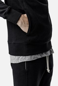 Baseline Hoodie / Black