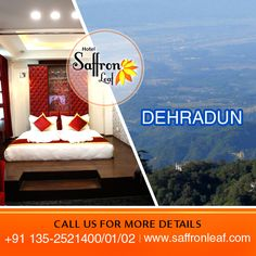 Welcome to the #Dehradun's most luxurious hotel. Stay here and spend your lavish time. To know more visit www.saffronleaf.com