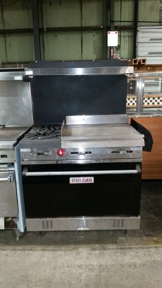 Used VULCAN 36 inch inch griddle/ pic to e-mail for quotes, pricing and product details/ by AIMCO Equipment Company Used Equipment, Oven Range, Grilling, Outdoor Decor, Quotes, Home Decor, Quotations, Decoration Home, Room Decor