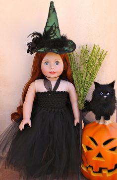 American Girl Witch Costume from www.harmonyclubdolls.com