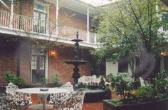 New Orleans..stayed at this cute hotel on Bourbon Street