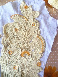 Фотография Freeform Crochet, Crochet Art, Crochet Flowers, Irish Crochet Tutorial, Bruges Lace, Russian Crochet, Irish Lace, Crochet Cardigan, Knitting Stitches