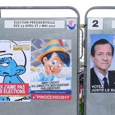 Street artists Jaeraymie and Combo reinvent French presidential campaign posters (332558)