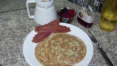 Oatmeal-Protein-Pancakes
