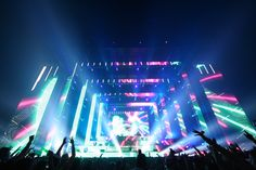 A view from the World Electronic Music Festival.