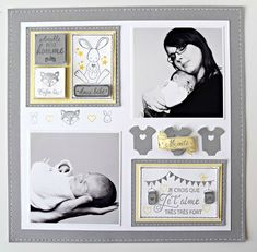 Wedding Scrapbook Pages, Scrapbook Journal, Scrapbook Albums, Scrapbooking Layouts, Scrapbook Paper, Smash Book Pages, Baby Frame, Creations, Paper Crafts