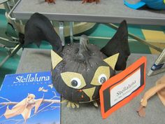 Each year our entire school participates in the fun fall tradition of creating a storybook pumpkin. Each class makes one pumpkin and they a. Halloween Activities, Autumn Activities, Classroom Activities, Halloween Crafts, Pumpkin Contest, Pumpkin Ideas, Book Character Pumpkins, Pumpkin Books, Stellaluna