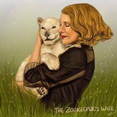 My illustration for the Zookeper's Wife. The movie makes you think about humanity and shows you the creations of cruelty, hate alongside with what love, compassion, and courage can achieve.  https://www.instagram.com/p/BSZYgIXB7Vz/?taken-by=ipekkomurcu   #jessicachastain #thezookeeperswife #movieart #illustration #nikicaro